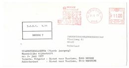 EMA - AFS - Meter F2815 Brugge Internationaal Toerisme Centrum Befort 31.05.1977 - Zeer Klare Stempel - Franking Machines