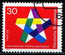 BRD - Michel 582 - OO Gestempelt (B) - 50 Jahre IAO - [7] West-Duitsland