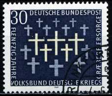 BRD - Michel 586 - OO Gestempelt (A) - Kriegsgräberfürsorge - [7] République Fédérale