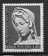 Italy, Scott # C137 Mint Hinged Madonna, 1964 - Poste Aérienne