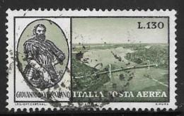 Italy, Scott # C138 Used Verrazono, 1964 - 1946-.. Republiek