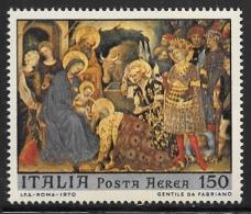 Italy, Scott # C139 MNH Christmas, 1970 - Poste Aérienne