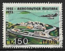 Italy, Scott # C140 Used Starfighter Over Pozzouli, 1973 - Poste Aérienne
