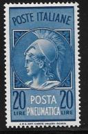 Italy, Scott # D22 MNH Pneumatic Post, 1966 - Poste Aérienne
