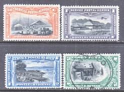 BELGIUM  CONGO  C 1-4    *  (o) - Belgian Congo