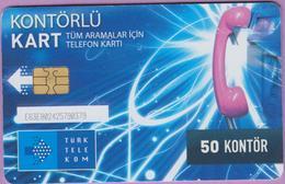 Turquie °° 50 Kontör - 2012 RTurquie °° 50 Kontör - 2012  °   R.V - Türkei