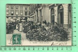 REIMS: Le Marché Aux Fleurs - Reims