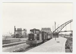 REPRODUCTION TRAIN VOIR DOS 62 Calais Ville Train De Voyageurs En Gare KM 95 Anvin Calais Le 23/05/1953 - Calais