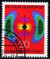 BRD - Michel 599 - OO Gestempelt (E) - Funkausstellung 69 - [7] West-Duitsland