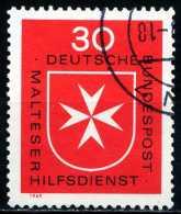 BRD - Michel 600 - OO Gestempelt (C) - Malteser Hilfsdiernst - [7] République Fédérale