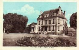 CPA - SANVIC (76) - Aspect De L'Hôtel De Ville Dans Les Années 30 - Autres Communes