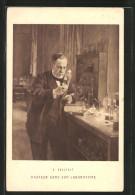 Künstler-AK Pasteur Dans Son Laboratoire - Gesundheit