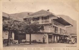 74 - DINGY-SAINT-CLAIR - Haute-Savoie - Hôtel Du Fier - Martinod - Propriétaire - Autres Communes