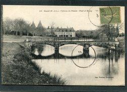CPA - GESTE - Château Du Plessis - France