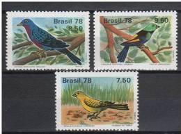 Brazil 1978. Animals / Birds Set MNH (**) - Oiseaux