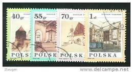 POLAND 1996 MICHEL No: 3599-3602 USED  /zx/ - Gebraucht