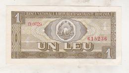 Romania 1 Leu 1966 Excellent Condition - Rumania