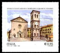 ITALIA / ITALY 2016** - Basilica Santuario S. Maria Della Quercia - Viterbo - 1 Val. Autoadesivo Come Da Scansione - 6. 1946-.. Republik