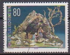 Lichtenstein 2000 MiNr.1249 Weihnachten Wurzelkrippe ( 628 )