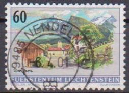 Lichtenstein 2000 MiNr.1230 Dorfansichten Kapelle St. Peter Balzers ( 676 )
