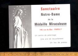 Horaires Es Offices Messes à La Chapelle Du Sanctuaire Notre Dame De La Médaille Miraculeuse 140 Rue Du Bac PARIS 7e - Europe