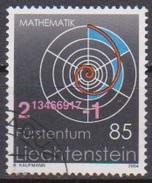 Lichtenstein 2004 MiNr.1357 Exakte Wissenschaften ( 680 )