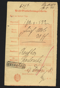 D.R.Stempel Eberbach (128) - Briefe U. Dokumente
