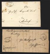 2x Postablage Ohne Jahreszahl Bonndorf + Schopfheim  (128) - Deutschland