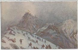 Cascella T., 23.4.1917, Avanzata, Col Di Lana, Prima Guerra Mondiale, Pro Croce Rossa. - Unclassified