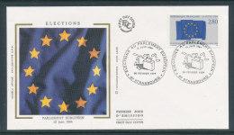 1994 Env 1er Jour Elections Au Parlement Européen - Strasbourg - 1990-1999