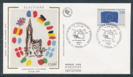 1994 Env 1er Jour Elections Au Parlement Européen - Paris - 1990-1999