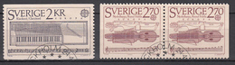 Zweden Mi 1328,1329 Europa Cept 1985 Gestempeld Fine Used - 1985
