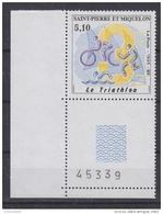 St. Pierre & Miquelon 1995 Triathlon 1v (corner) ** Mnh (34119B) - St.Pierre & Miquelon