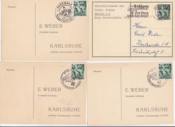 ALLEMAGNE III EME   REICH PROPAGANDE  4 DOCUMENTS - Deutschland
