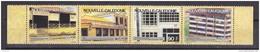 Nouvelle-Caledonie 1994 Post Office Buildings Strip 4v ** Mnh (34119F) - Nieuw-Caledonië
