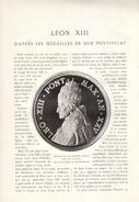 1903 - Albert Battandier - Léon XIII D'après Les Médailles De Son Pontificat -  21 Pp. Et 38 Photos - FRANCO DE PORT - Jetons & Médailles