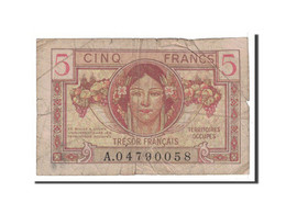 France, 5 Francs, 1947, Undated, KM:M6a, TB+, Fayette:VF29.1 - Treasury