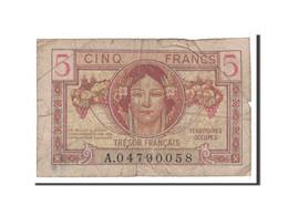 France, 5 Francs, 1947, Undated, KM:M6a, TB+, Fayette:VF29.1 - Tesoro