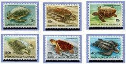Papouasie Nelle Guinée ** N° 466 à 471 - Tortues De Mer - - Papua Nuova Guinea