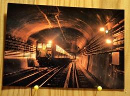 RAME SPRAGUE SUR LA LIGNE 5 AUX ABORDS DE LA BASTILLE TRAIN SPECIAL COPEF NUIT DU 9/10 MARS 1991 SCAN R/V - Subway