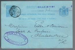 Nederland, For Crissier - Periode 1891-1948 (Wilhelmina)