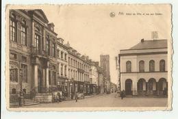 Ath  *  Hotel De Ville Et Rue Aux Gâdes  (abimée !!!!) - Ath
