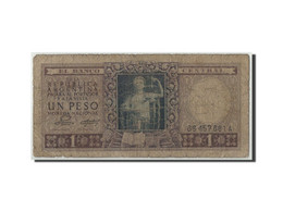 Argentine, 1 Peso, Undated (1956), KM:263a, B - Argentine