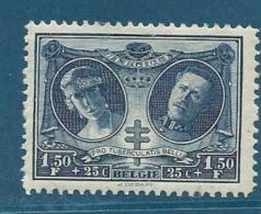 Belgique    -   Yvert N°  243 *   Cw 10525 - Belgium