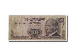 Turquie, 50 Lira, L.1970 (1976), KM:188, B - Turchia