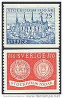 ZWEDEN 1953 Stockholm Serie PF-MNH