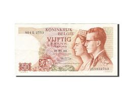 Belgique, 50 Francs, 1964-1966, KM:139, 1966-05-16, TTB+ - [ 6] Treasury