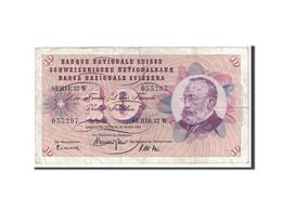 Suisse, 10 Franken, 1963, KM:45h, 1963-03-28, TTB - Svizzera