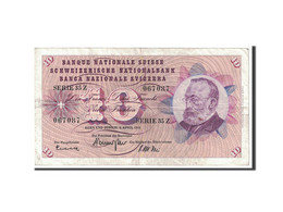Suisse, 10 Franken, 1964, KM:45i, 1964-04-02, TTB - Suiza