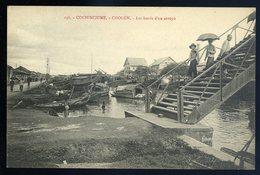 Cpa De Cochinchine Viêt Nam Cholon -- Les Bords D' Un Arroyo   JIP90 - Vietnam